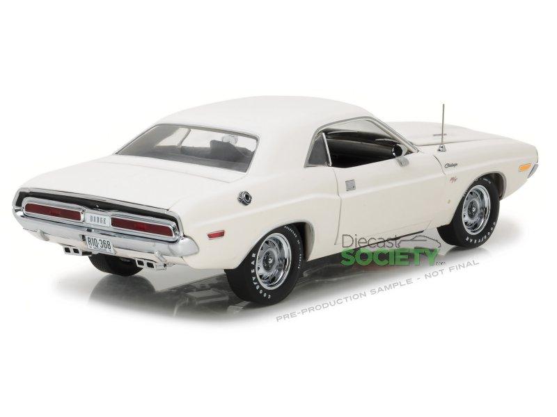 Highway 61 1970 Dodge Challenger Rt White