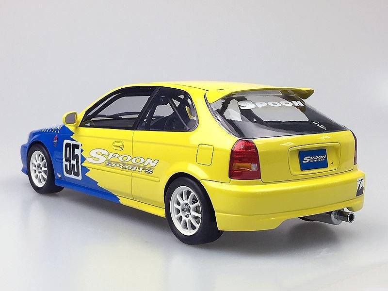 Honda Civic Models >> One Model Honda Civic EK9 Spoon Racing • DiecastSociety.com