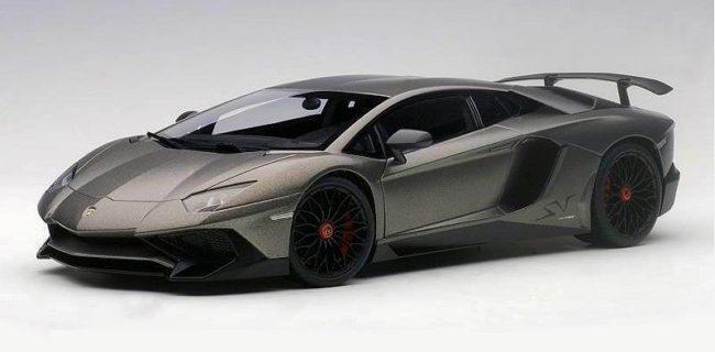 Final Colour Autoart Lamborghini Aventador Lp750 4 Sv