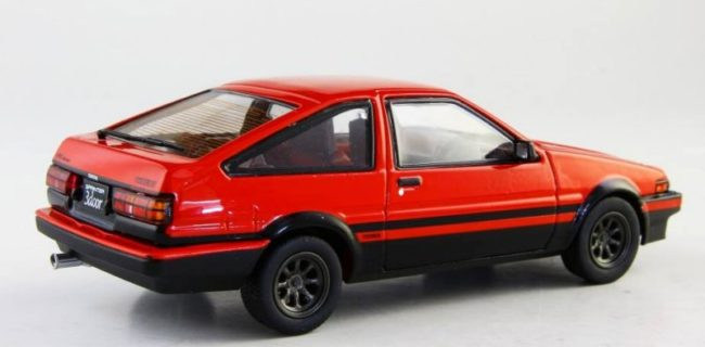 News From The Kyosho Camp Are A Series Of 1:43 Scale Models Of The Toyota  Sprinter Trueno (AE86). Multiple Colours, Wheels, And Headlights In The  Open ...