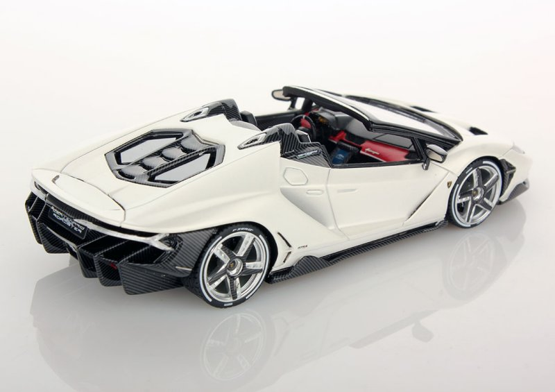 Looksmart Lamborghini Centenario Roadster Bianco Canopus