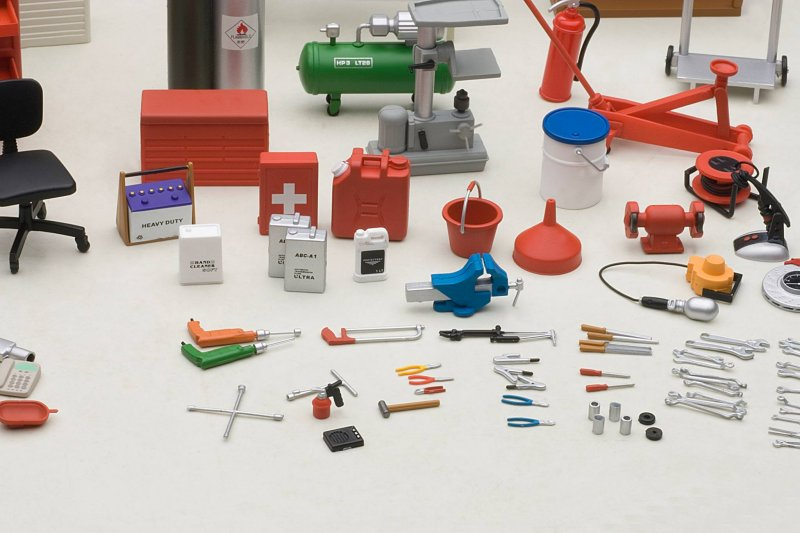 autoart garage kit set   u2022 diecastsociety com tool box storage shelves Truck Tool Box Shelves