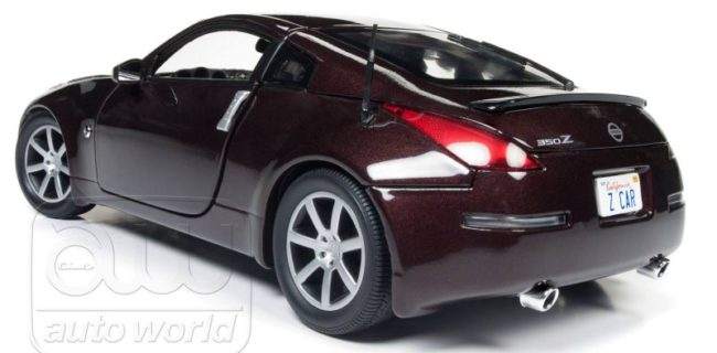 Nissan 350Z 2017 >> Auto World New 2003 Nissan 350z Diecastsociety Com