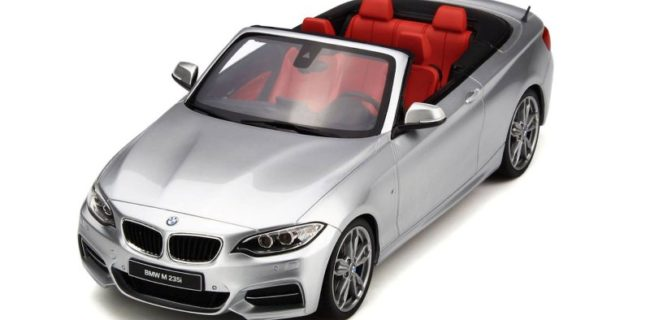 silber BMW GT Cabrio