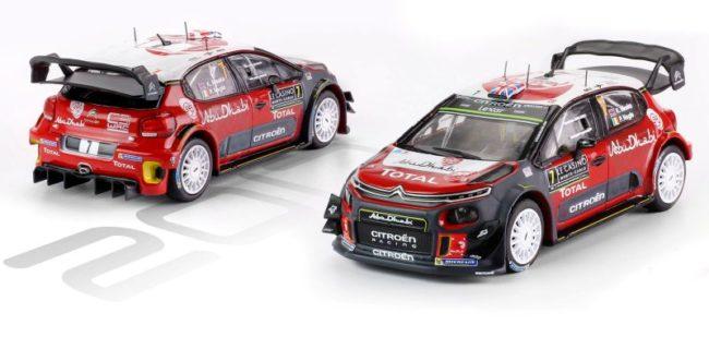 Rally Monte Carlo Meeke//Nagle 2016 1:43 Ixo Citroen DS3 WRC #7