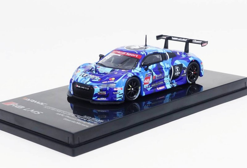 AUG 2017 Tarmac Works HOBBY Audi R8 LMS 2015 FIA GT World Cup Macau BATHING Aape