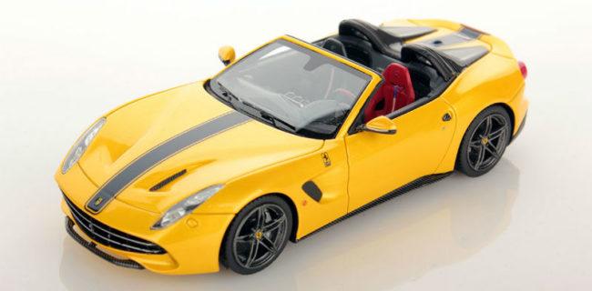 Looksmart New Colour Ferrari F60 America Giallo Tristrato