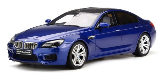 GT Spirit Is Expanding Their BMW Marquee With The New M6 Gran Coupe In Dark Blue Model Scaled 118 Sealed Body Design