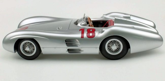TOP Marques Mercedes-Benz W196 Streamliner #18 - Painted Sample •  DiecastSociety.com