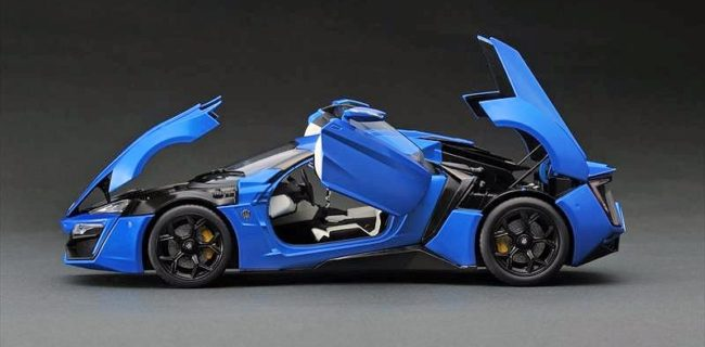 We don't know much of the brand Keng Fai Toys, but we do know a well executed diecast model. Their version of the 1:18 W Motors Lykan Hypersport is ...