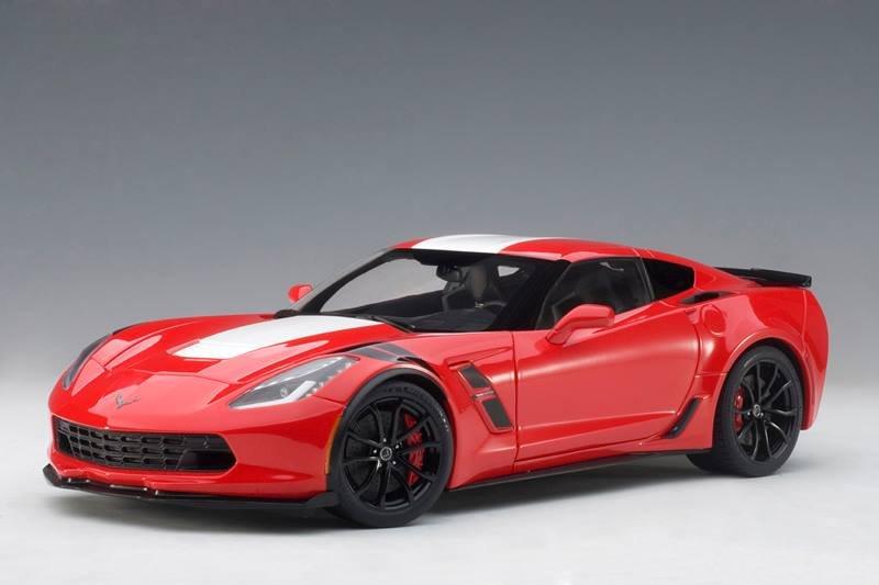 First Look Autoart Chevrolet Corvette Grand Sport Red