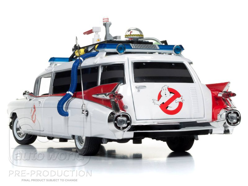 auto world ghostbusters ecto 1 1959 cadillac eldorado. Black Bedroom Furniture Sets. Home Design Ideas