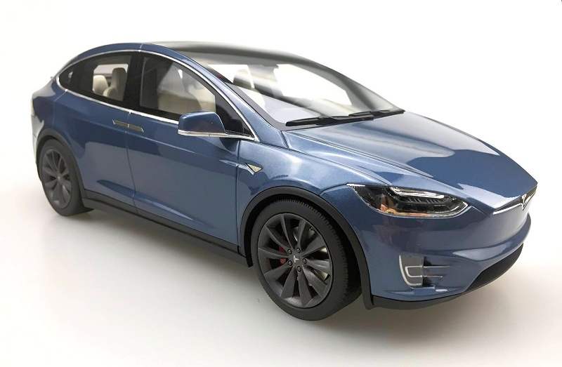LS Collectibles Painted Samples Tesla Model X