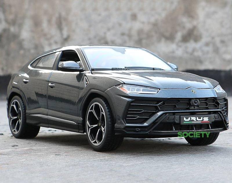 Urus Lamborghini >> First Look: Bburago Lamborghini Urus • DiecastSociety.com