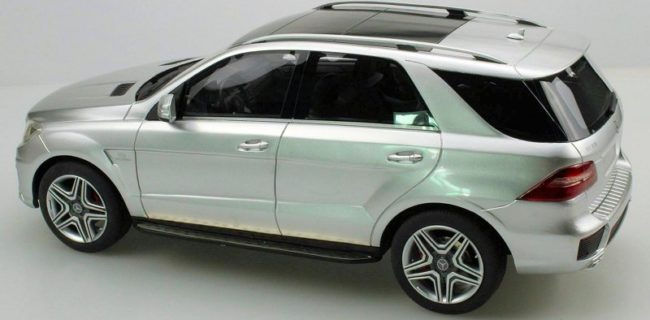 LS Collectibles Is Showing Off Their Painted Sample, The 1:18 Mercedes Benz  SUV In Silver With Black Interior. Model Is Crafted In Resin With  Closed Body ...