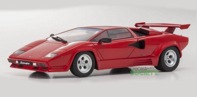 Kyosho Lamborghini Countach Lp5000 Qv Red Diecastsociety Com