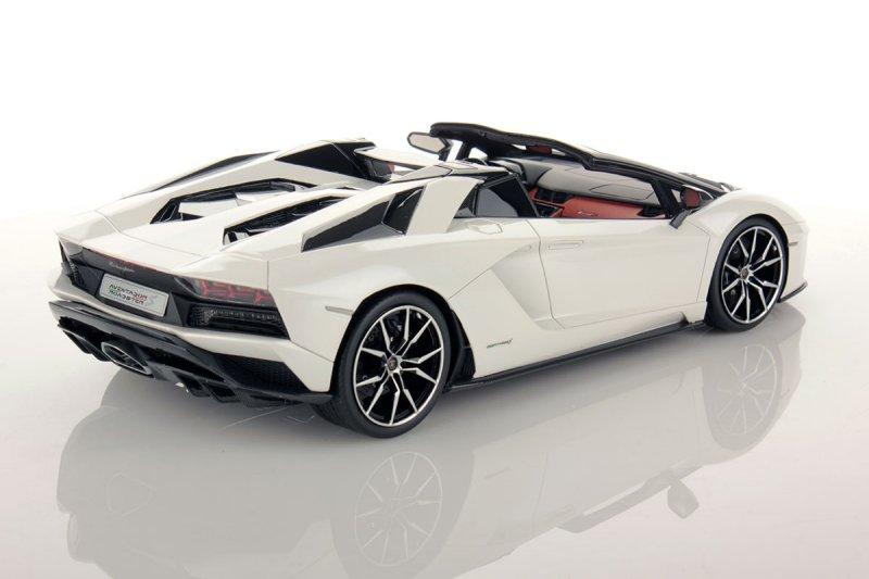 MR Lamborghini Aventador S Roadster - Balloon White ...