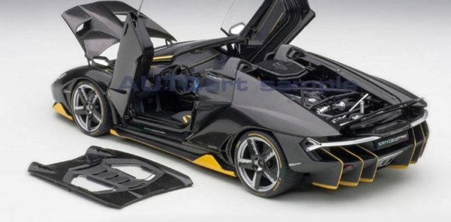 Autoart New Lamborghini Centenario Roadster Diecastsociety Com