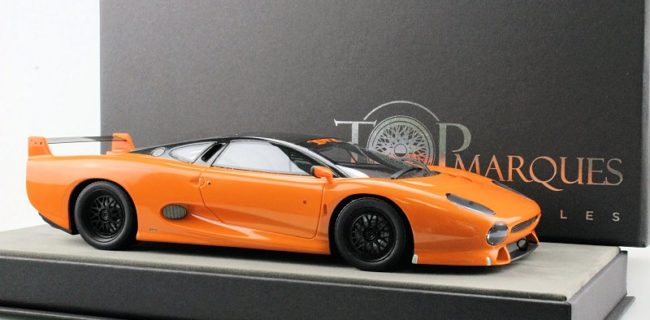 Team TOP Marques Is Taking The Base Jaguar XJ 220 And Bringing Forward  Their Version Of The Tuner Variant, The 1:18 Jaguar XJ220 S TWR.