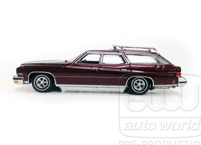 Auto World 1974 Buick Estate Wagon • DiecastSociety.com