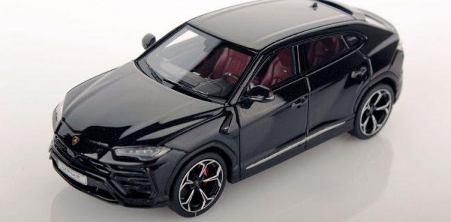 Looksmart 1 43 Lamborghini Urus Black Diecastsociety Com