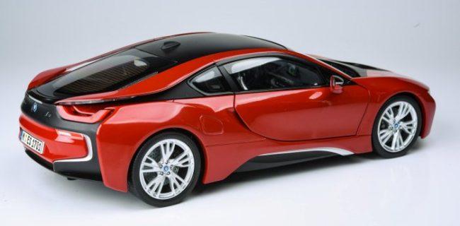Paragon Models Bmw I8 Protonic Red Diecastsociety Com