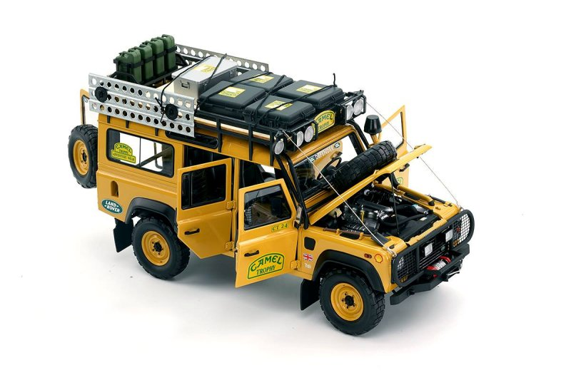 Almost Real Production Land Rover Defender 110 Camel ...