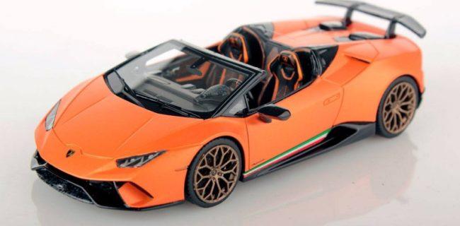 New Colour Looksmart Lamborghini Huracan Spyder Diecastsociety Com