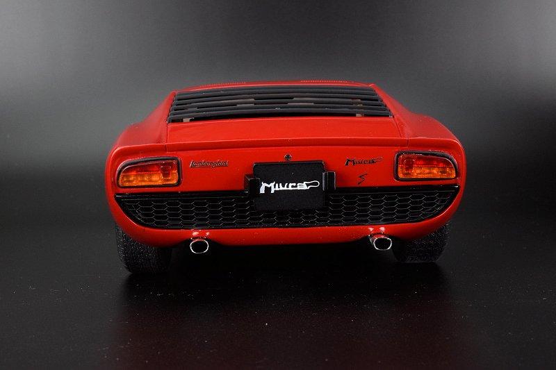Photo Gallery Kyosho Lamborghini Miura P400s Corsa Red