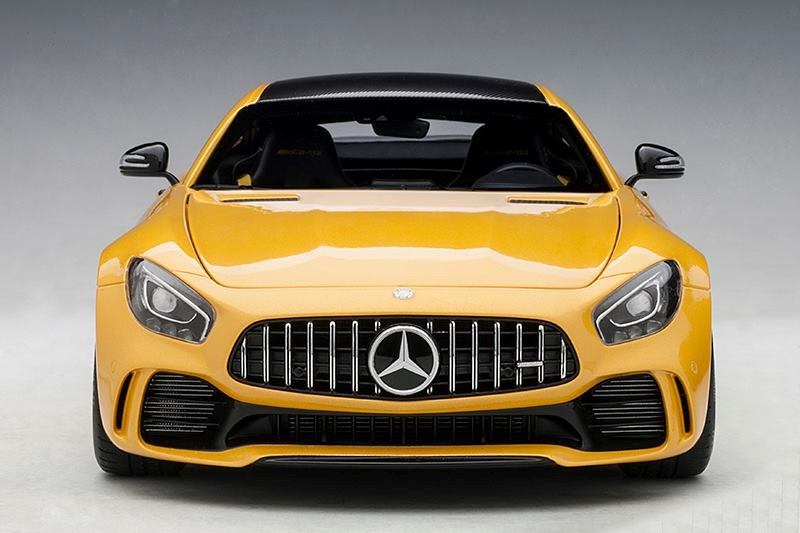 Autoart Mercedes Amg Gt R Amg Solarbeam Yellow Metallic