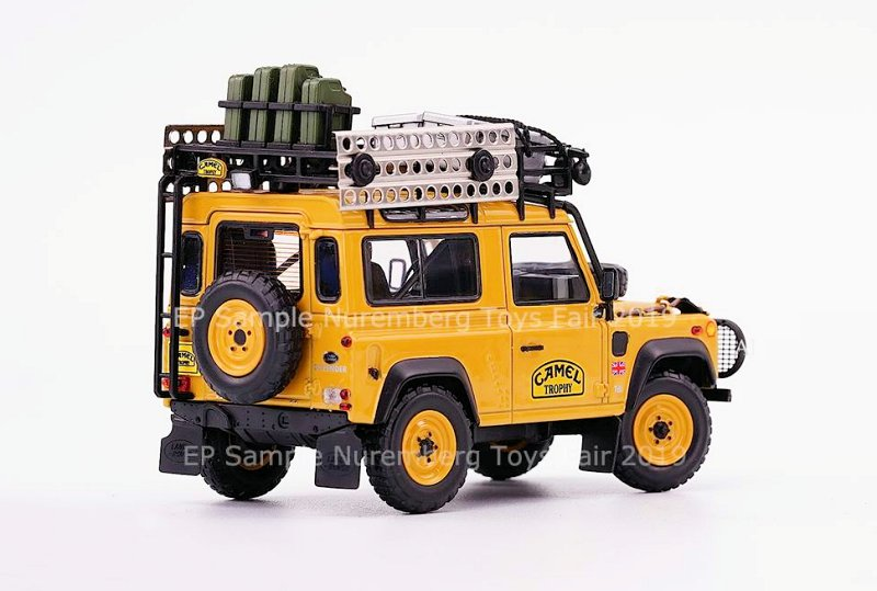 Almost Real 1:43 Land Rover Defenders • DiecastSociety com
