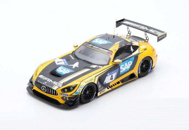 Audi R8 Lms #24 Nurburgring 2018 M.Winkelhock M.Rockenfeller SPARK 1:18 18SG030