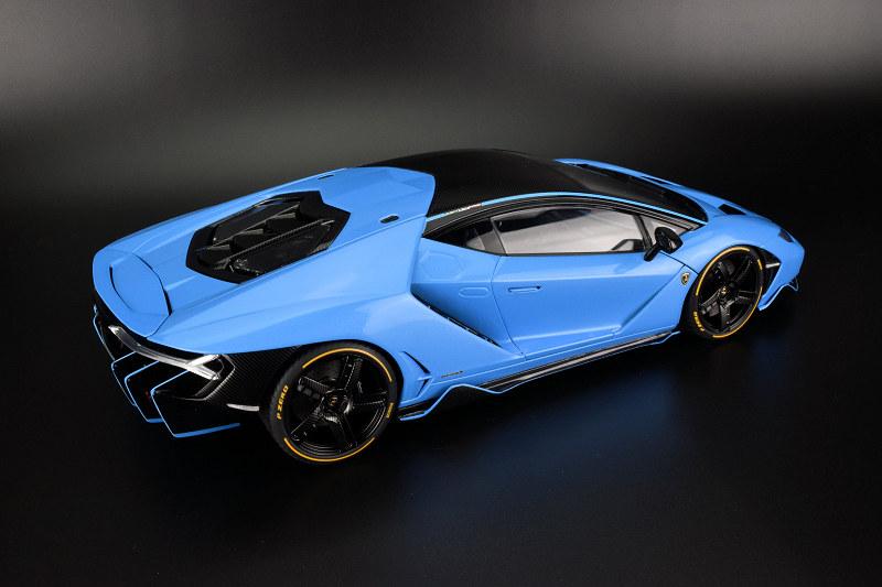 Review Autoart Lamborghini Centenario Diecastsociety Com