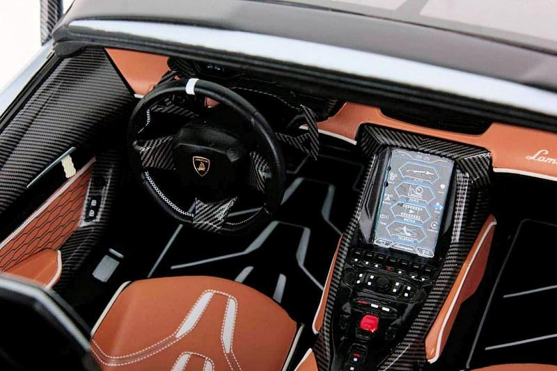 Looksmart 1 12 Lamborghini Centenario Roadster Diecastsociety Com