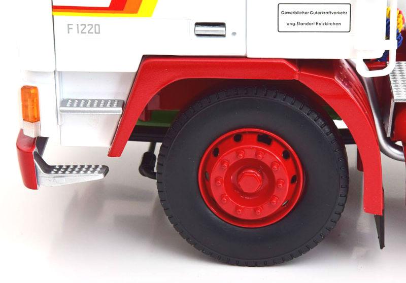 Volvo f12 1977 camiones Weiss rojo limitado 1 de 1000 unidades 1//18 KK-scale Road Kings