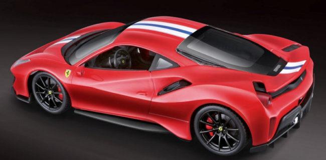 Bburago 1:24 Ferrari 488 Pista • DiecastSociety.com