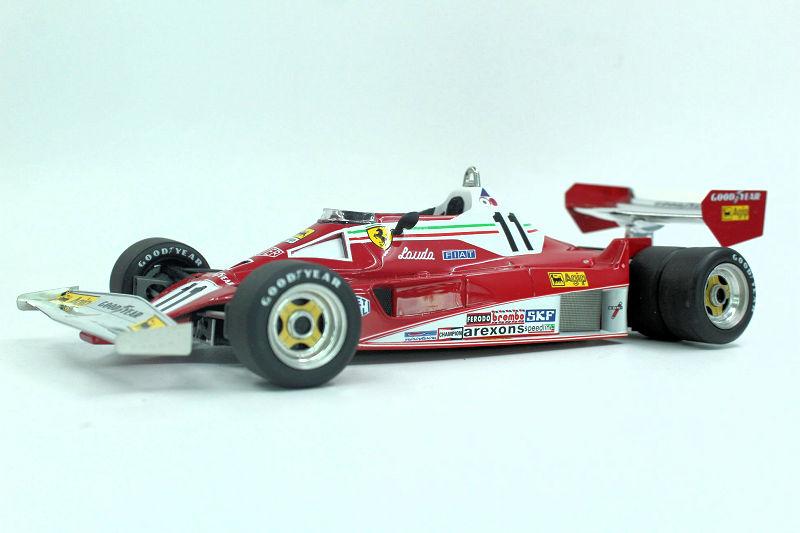 Gp Replicas Ferrari 312t6 Six Wheeler Diecastsociety Com
