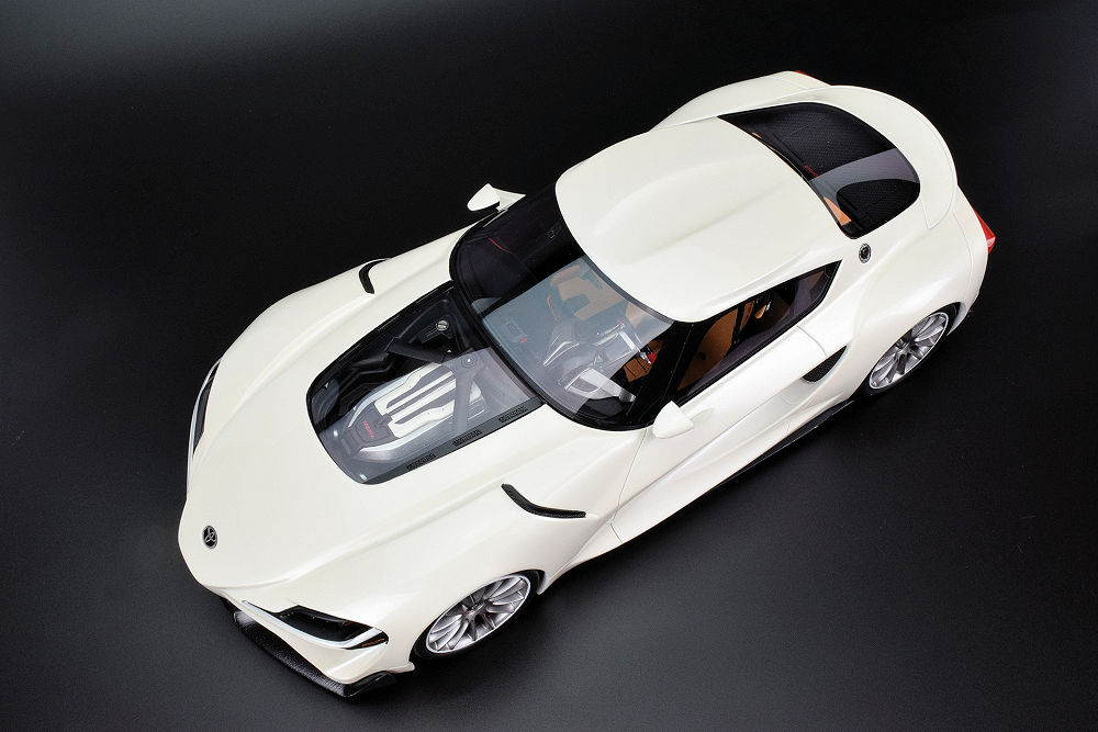 Review Ab Models Toyota Ft 1 Concept Diecastsociety Com