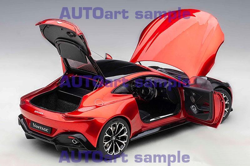 First Look Autoart Aston Martin Vantage 2019 Hyper Red Diecastsociety Com