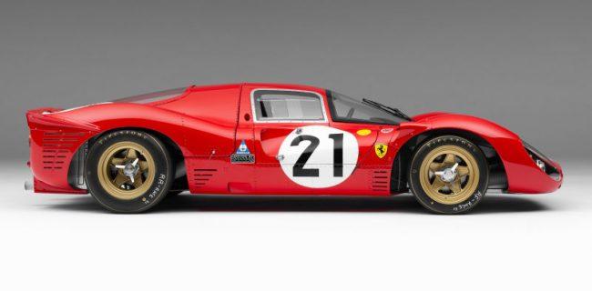 Amalgam 1 8 Ferrari 330 P4 Lemans 21 1967 Diecastsociety Com