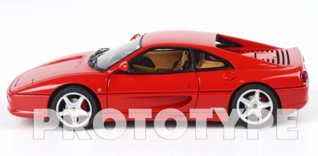 rot Maßstab 1:43 von bburago F 355 Berlinetta Ferrari
