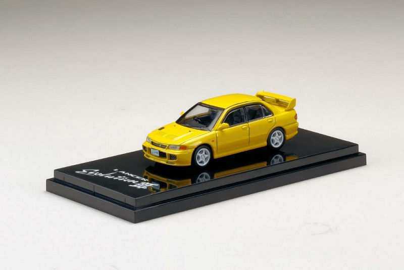CE9A Hobby Japan 1:64 Mitsubishi Lancer GSR Evolution III Customized Black