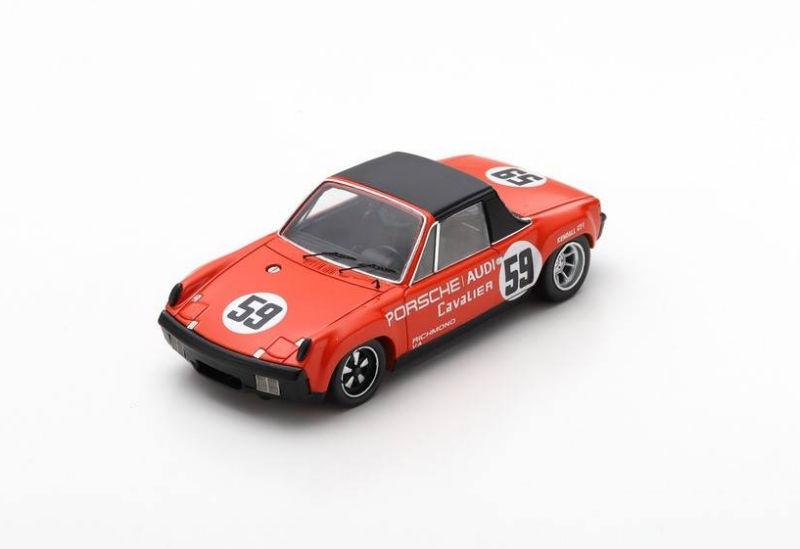 1:43 Spark S7514 Porsche 718 RS Bob Holbert #14 Nassau 1961