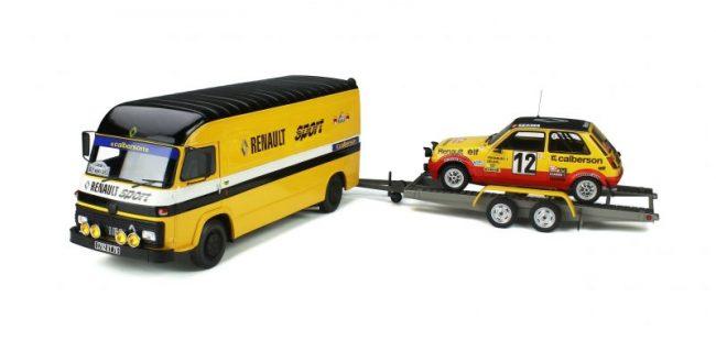 1//18 Otto Alpine A110 GT4 OT352 Ottomobile