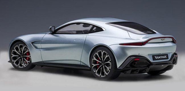 Autoart New Aston Martin Vantage 2019 Skyfall Silver Diecastsociety Com